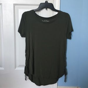 Hollister Laced Green Tee